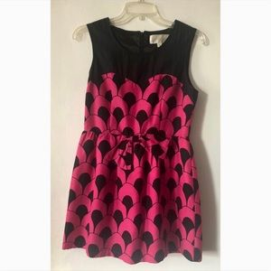 Julie Brown Hot pink mini dress